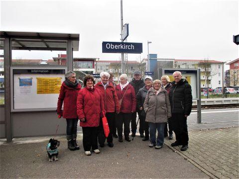 Ausflugsgruppe nach Oberkirch