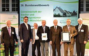 Themenbild: Preisverleihung Bundeswettbewerb 2016