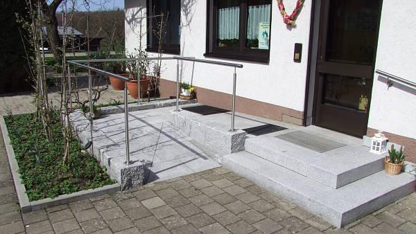 Themenbild: Barrierefreier Hauseingang
