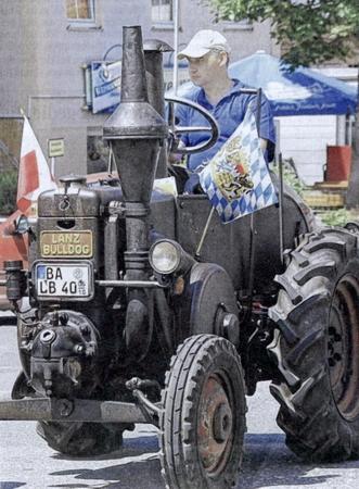 Lanz Bulldog 20 PS  Baujahr1940