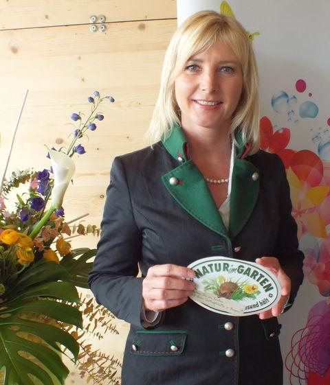 Natur im Garten - auch Ministerin Ulrike Scharf steht dahinter