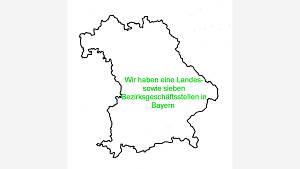 Bayern im Umriß