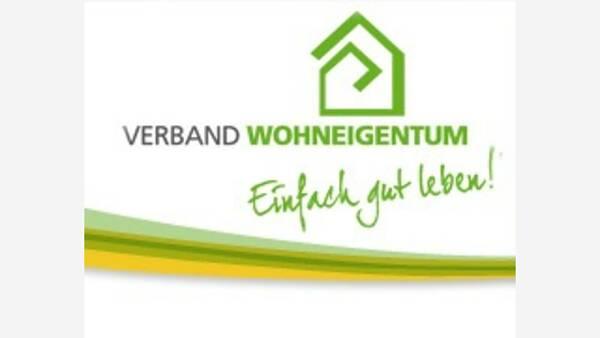 Themenbild: Logo Verband Haus-und Wohneigentum. Einfach gut leben.