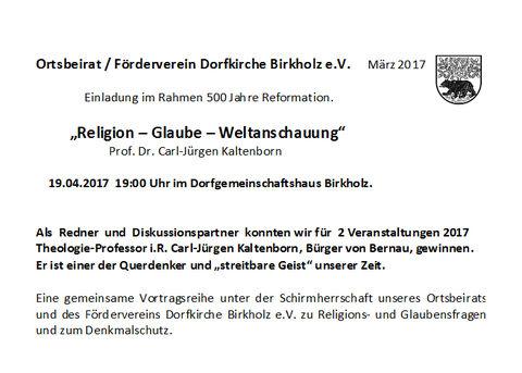 Vortrag Prof. Dr. Koltenborn 19.04.2017