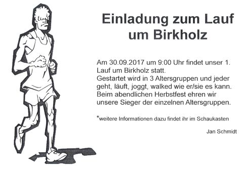 Lauf um Birkholz