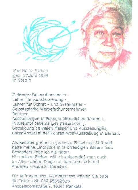 Vita von Karl Heinz Eschen
