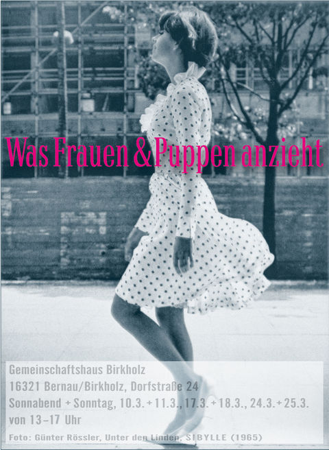 Ausstellung - Was Frauen & Puppen anzieht -