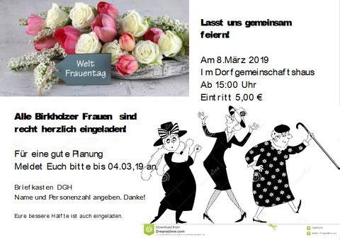 Frauentagsfeier 2019