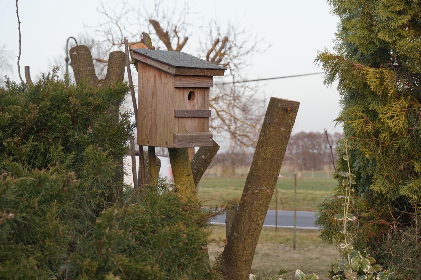 Aktion Nistkastenbau bis 31.03.2012