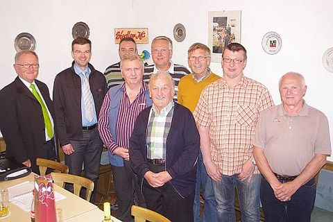 Vorstandschaft des KV Kronach