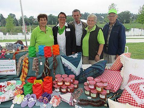 Frauengruppe der SG Niederlamitz