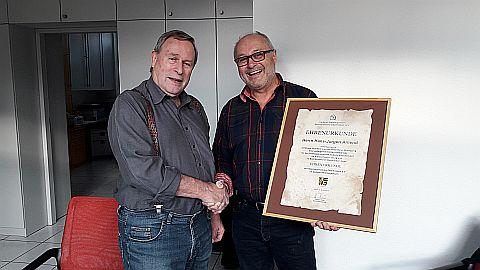 Jubiläum Hans-Jürgen Amend