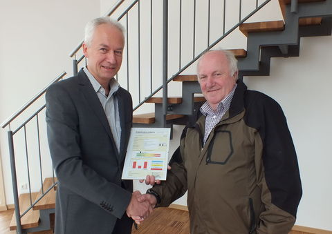 Rainer Bäumler und Christian Benoist