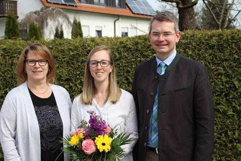 von links: Monika Straß, Daniela Eisenhut, Peter Tomaschko MdL