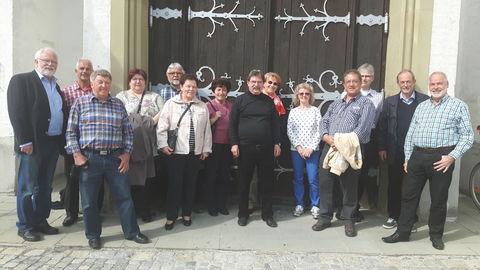 Teilnehmer der Stadtführung