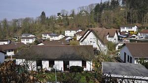 Siedlung in Kleinstadt