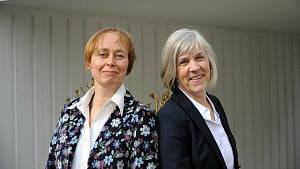 Presseteam: Anna Florenske und Katrin Ahmerkamp
