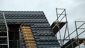Dachsanierung bei Einfamilienhaus