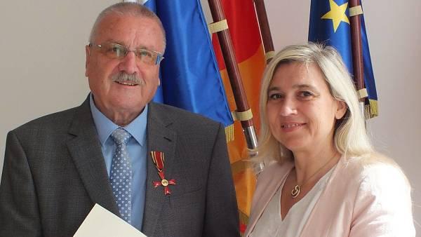 Themenbild: Bundesverdienstkreuz für Siegmund Schauer