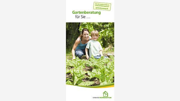 Themenbild: Folder Gartenberatung