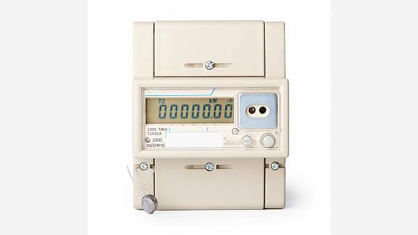 Themenbild: digitaler Stromzähler