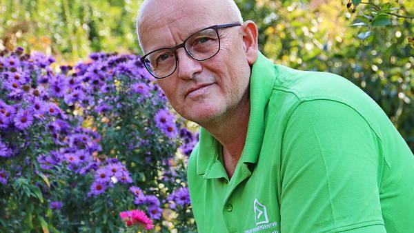 Themenbild: Bundesgartenberater Martin Breidbach