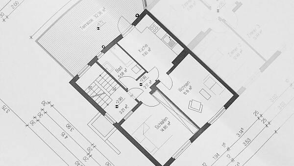 Themenbild: Architektenplan