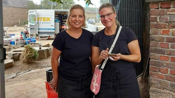 Themenbild: Maike Biert und ihre Freundin Stefanie Jäger