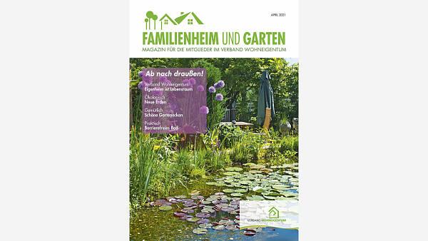 Themenbild: Titel Familienheim und Garten