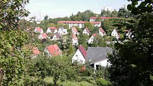 Ketschendorf vom Pelzhügel aus
