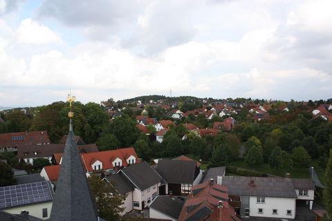 Scheuerfeld von oben