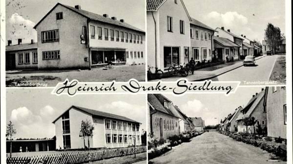 Themenbild: Heinrich Drake Siedlung um 1960
