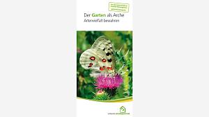Broschüre Garten als Arche