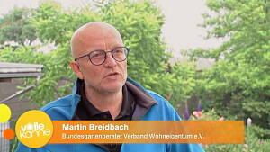 Martin Breidbach bei ZDF Dreh
