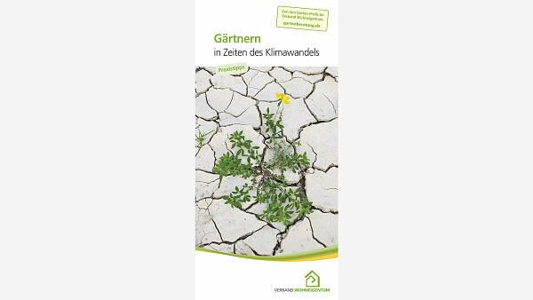 Themenbild: Broschüre Gärtnern in Zeiten des Klimawandels