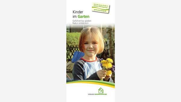 Themenbild: Folder Kinder im Garten