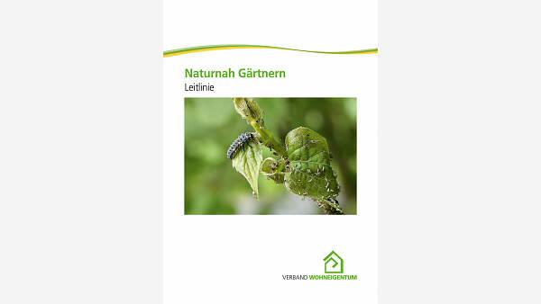 Themenbild: Titel Leitbild Naturnah Gärtnern