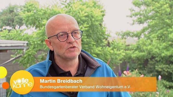 Themenbild: Martin Breidbach bei ZDF Dreh