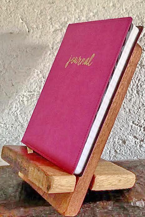 Buchstütze mit Buch
