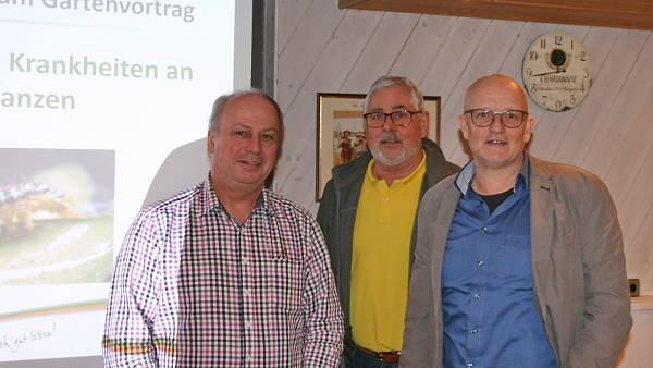 Themenbild: Waldemar Kempf und Werner Rink zusammen mit Martin Breidbach