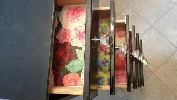 Themenbild: Die Schubladen im Schrank