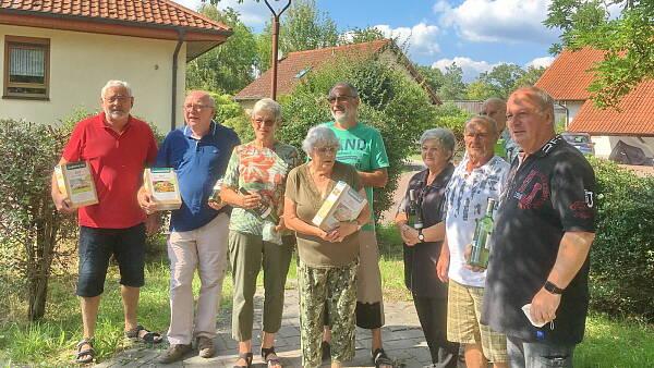 Themenbild: Die Teilnehmer am Gartenwettbewerb 2021