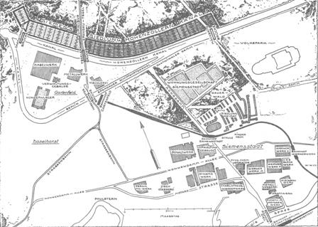 Planübersicht Siemensstadt