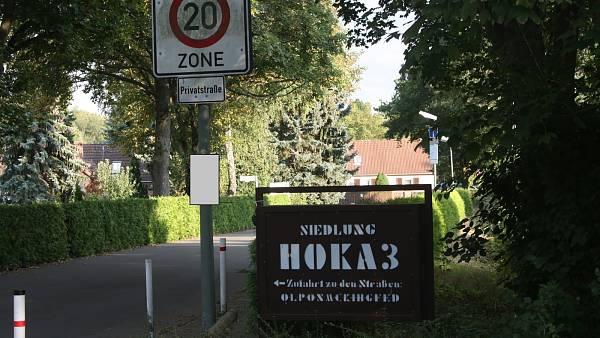 Themenbild: Einfahrt von Bernauer Straße