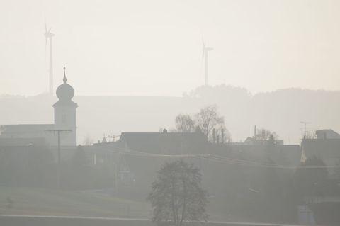 Kaltenbrunn im Nebel