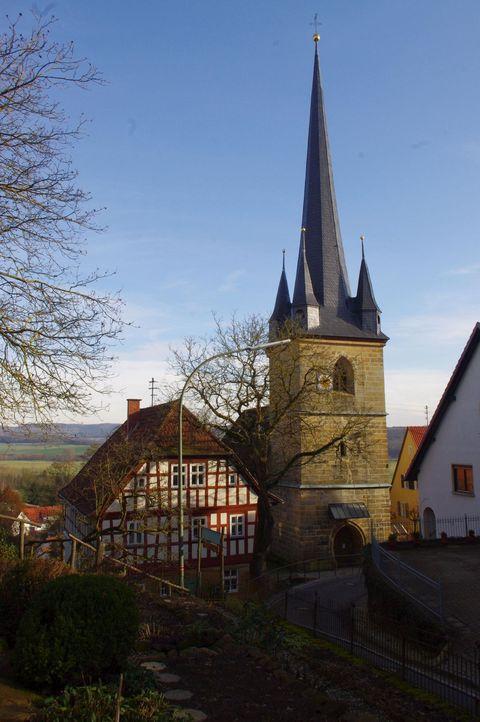 Die Kirche in Schottenstein