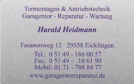 H. Heidmann