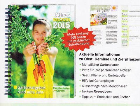 Jahresmagazin 2015