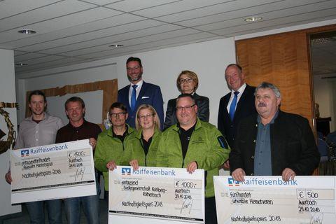 Nachhaltigkeitspreis Raiffeisenbank Auerbach-Freihung eG 2018