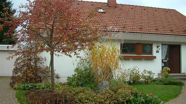 Themenbild: Haus mit Vorgarten